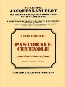 CAHUZAC L. PASTORALE CEVENOLE CLARINETTE