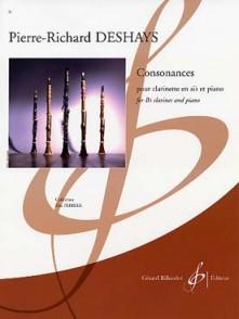 DESHAYS P.R. CONSONANCES CLARINETTE SIB