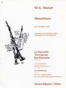 MOZART W.A. MOZARTIANA CLARINETTE SIB