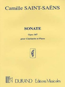 SAINT-SAENS C. SONATE OP 167 CLARINETTE SIB