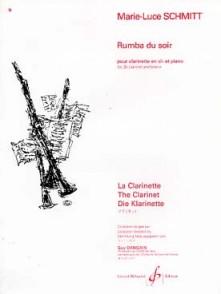 SCHMITT M.L. RUMBA DU SOIR CLARINETTE