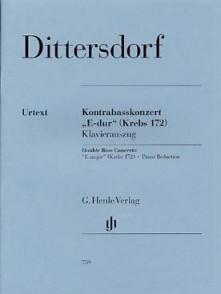DITTERSDORF K. CONCERTO N°2 MI MAJEUR CONTREBASSE