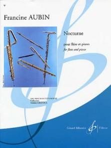 AUBIN F. NOCTURNE FLUTE