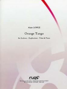 LOPEZ A. ORANGE TANGO TUBA OU EUPHONIUM