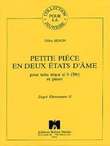 SENON G. PETITE PIECE EN DEUX ETATS D'AME TUBA TENOR