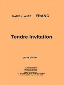 FRANC M.L. TENDRE INVITATION PIANO