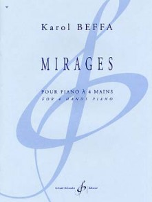 BEFFA K. MIRAGES PIANO 4 MAINS