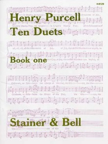 PURCELL H. TEN DUETS BOOK ONE 2 VOIX
