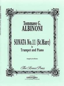ALBINONI T. SONATA N°11 (ST MARC) TROMPETTE