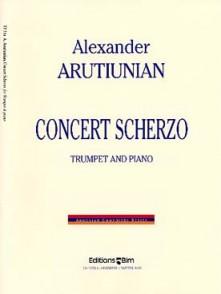 AROUTIUNIAN A. CONCERT SCHERZO TROMPETTE