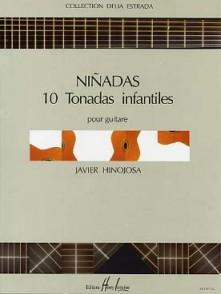 HINOJOSA J. NINADAS 10 TONADAS INFANTILES GUITARE