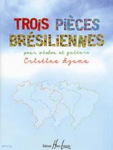 AZUMA C. TROIS PIECES BRESILIENNES VIOLON GUITARE