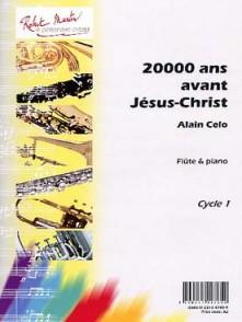 CELO A. 20000 ANS AVANT JESUS-CHRIST FLUTE