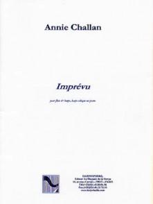 CHALLAN A. IMPREVU FLUTE ET HARPE