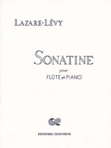 LAZARE-LEVY SONATINE OP 32 FLUTE