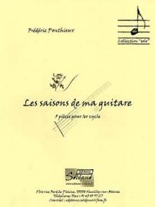 PONTHIEUX F. LES SAISONS DE MA GUITARE
