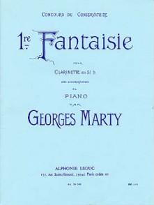 MARTY G. 1RE FANTAISIE CLARINETTE