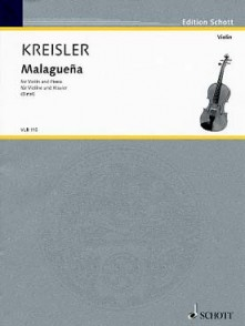 KREISLER F. MALAGUENA VIOLON PIANO