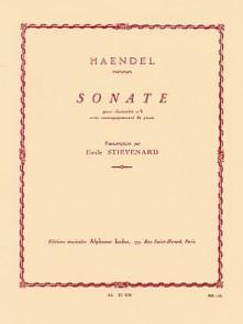 HAENDEL G.F. SONATE CLARINETTE