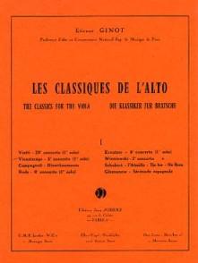 VIEUXTEMPS H. CONCERTO N°5 EN LA MINEUR (1ER SOLO) ALTO