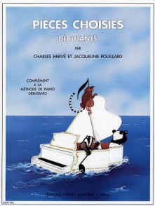 HERVE C./POUILLARD J. PIECES CHOISIES PIANO
