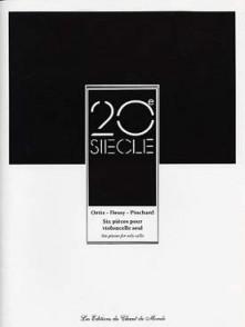 ORTIZ - DESSY - PINCHARD 6 PIECES VIOLONCELLE SEUL