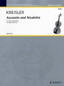 KREISLER F. AUCASSIN ET NICOLETTE VIOLON