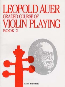 AUER L. GRADED COURSE OF VIOLIN PLAYING BOOK 2