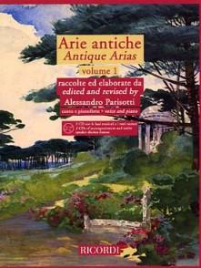 PARISOTTI A. ARIE ANTICHE VOL 1 CHANT PIANO