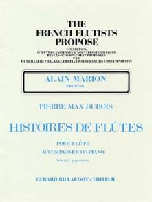 DUBOIS P.M. HISTOIRES DE FLUTES VOL 2 FLUTE