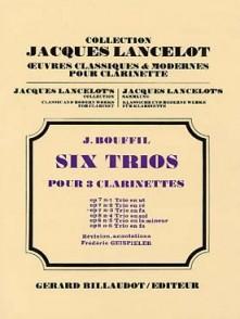 BOUFFIL J./GEISPIELER F. TRIO OP 7 N°3 POUR 3 CLARINETTES