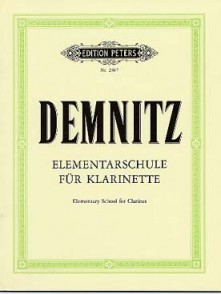 DEMNITZ F. ECOLE ELEMENTAIRE DE LA CLARINETTE