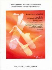 CAENS J.P. L'A.B.C. DU SAXOPHONISTE VOL 2 SAXO
