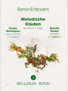 ENTEZAMI R. MELODISCHE ETUDEN VOL 1 VIOLON