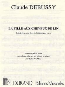 DEBUSSY C. LA FILLE AUX CHEVEUX DE LIN SAXO ALTO