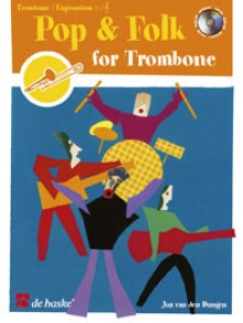 POP & FOLK FOR TROMBONE OU EUPHONIUM