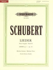SCHUBERT F. LIEDER VOL 2 VOIX MOYENNE