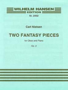 NIELSEN C. FANTASY PIECES OP 2 HAUTBOIS PIANO