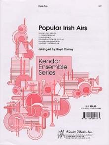 CONLEY L. POPULAR IRISH AIRS 3 FLUTES