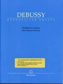 DEBUSSY C. CHILDREN'S CORNER PIANO