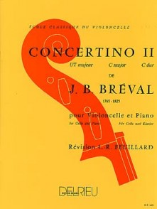 BREVAL J.B. CONCERTINO N°2 VIOLONCELLE