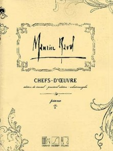 RAVEL M. CHEFS-D'OEUVRE  PIANO