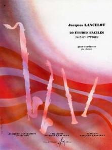 LANCELOT J. 20 ETUDES FACILES CLARINETTE