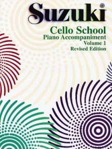 SUZUKI CELLO SCHOOL VOL 1 ACCOMPAGNEMENT PIANO