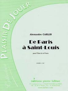 CARLIN A. DE PARIS A SAINT-LOUIS FLUTE