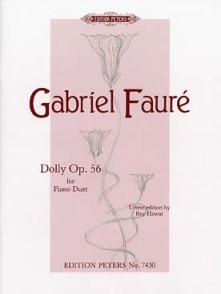 FAURE G. DOLLY OP 56 PIANO 4 MAINS