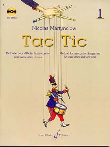 MARTYNCIOW N. TAC TIC VOL 1 PERCUSSION