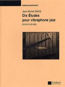 DAVIS J.M. DIX ETUDES VIBRAPHONE