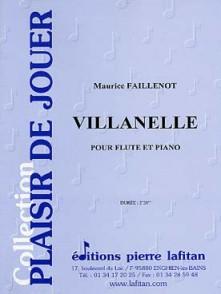 FAILLENOT M. VILLANELLE FLUTE