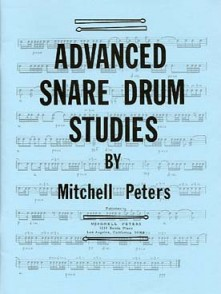 PETERS M. ADVANCED SNARE DRUM STUDIES